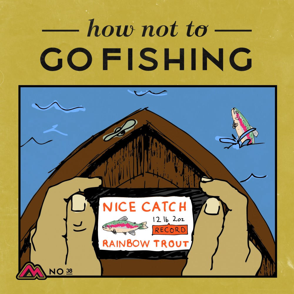 How not to catch a fish